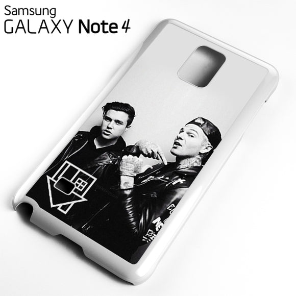 Zach Abels And Jesse Rutherford - Samsung Galaxy Note 4 Case - Tatumcase