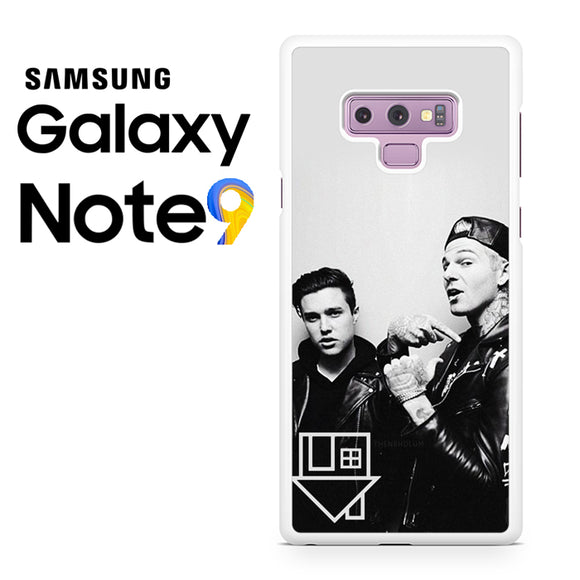 Zach Abels And Jesse Rutherford - Samsung Galaxy NOTE 9 Case - Tatumcase