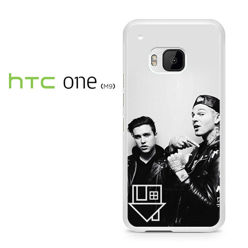 Zach Abels And Jesse Rutherford - HTC ONE M9 Case - Tatumcase