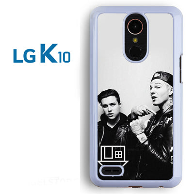 Zach Abels And Jesse Rutherford - LG K10 Case - Tatumcase