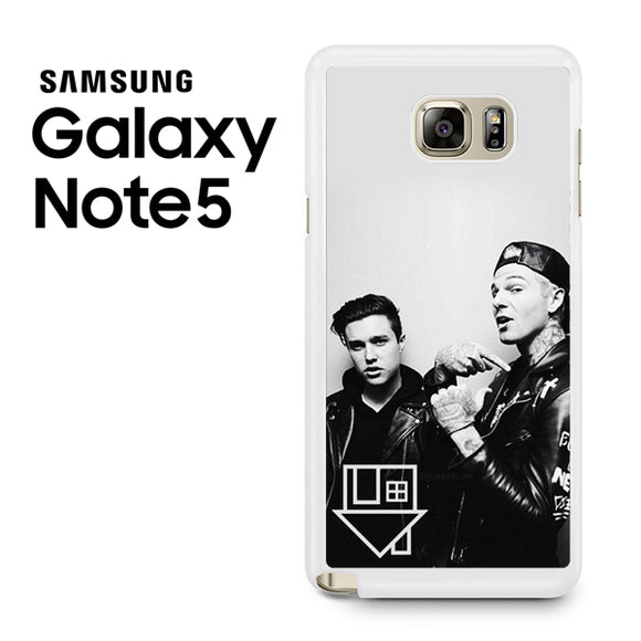 Zach Abels And Jesse Rutherford - Samsung Galaxy Note 5 Case - Tatumcase