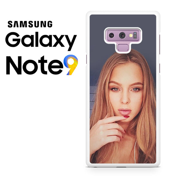 Zara Larsson 3 - Samsung Galaxy NOTE 9 Case - Tatumcase