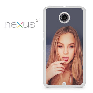 Zara Larsson 3 - Nexus 6 Case - Tatumcase