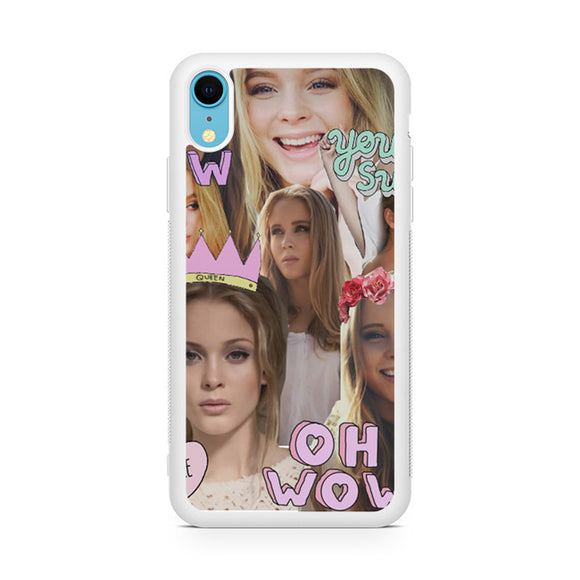 Zara Larsson Collage,Custom Phone Case, iPhone XR Case, Tatumcase