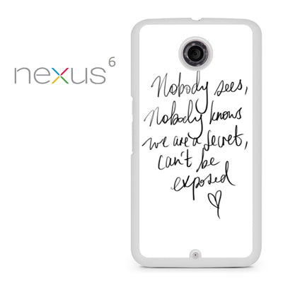 Zara Larsson Lyric - Nexus 6 Case - Tatumcase