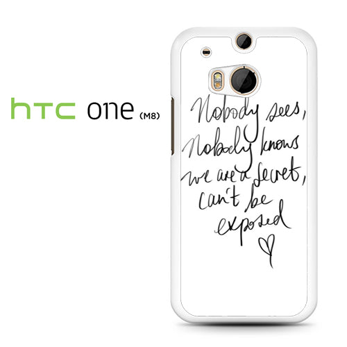 Zara Larsson Lyric - HTC M8 Case - Tatumcase
