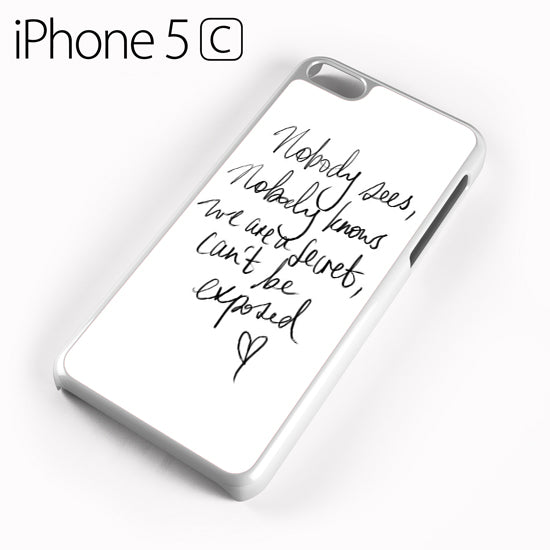 Zara Larsson Lyric - iPhone 5C Case - Tatumcase