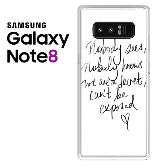 Zara Larsson Lyric - Samsung Galaxy Note 8 Case - Tatumcase