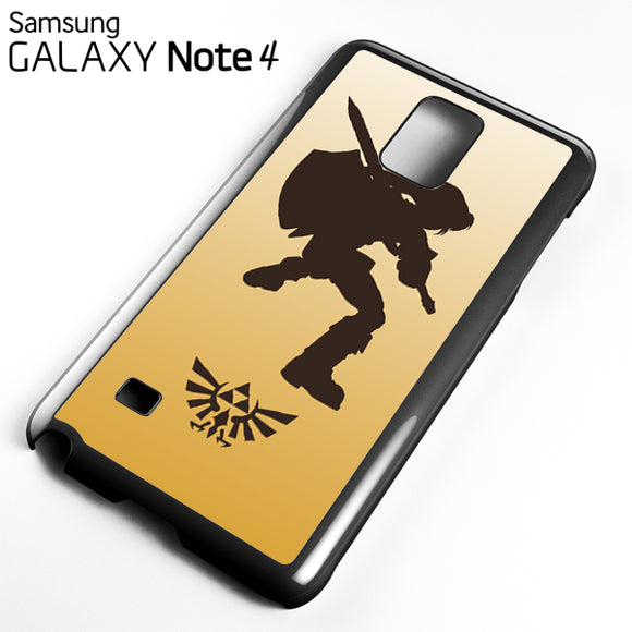 Zelda Gold Art - Samsung Galaxy Note 4 Case - Tatumcase