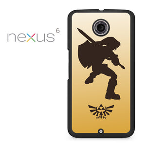 Zelda Gold Art - Nexus 6 Case - Tatumcase