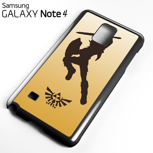 Zelda Gold - Samsung Galaxy Note 4 Case - Tatumcase