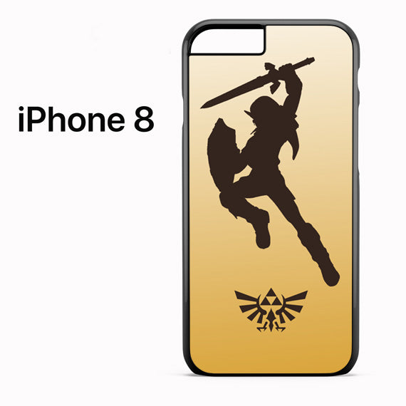 Zelda Gold - iPhone 8 Case - Tatumcase