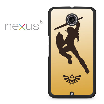 Zelda Gold - Nexus 6 Case - Tatumcase