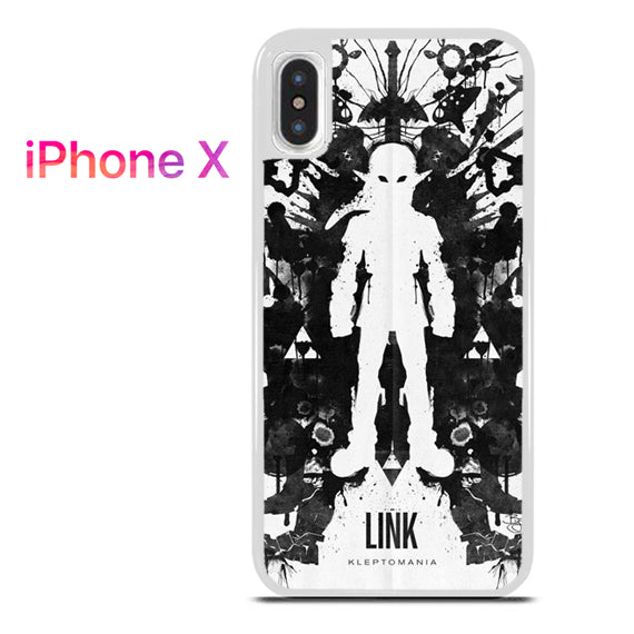Zelda Link Kleptomania - iPhone X Case - Tatumcase