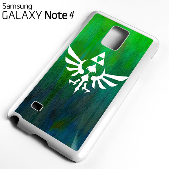 Zelda Logo Art - Samsung Galaxy Note 4 Case - Tatumcase