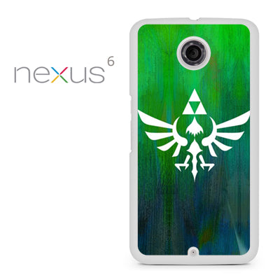 Zelda Logo Art - Nexus 6 Case - Tatumcase