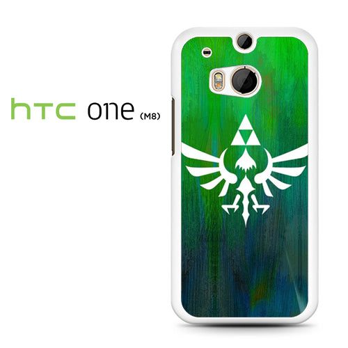 Zelda Logo Art - HTC M8 Case - Tatumcase
