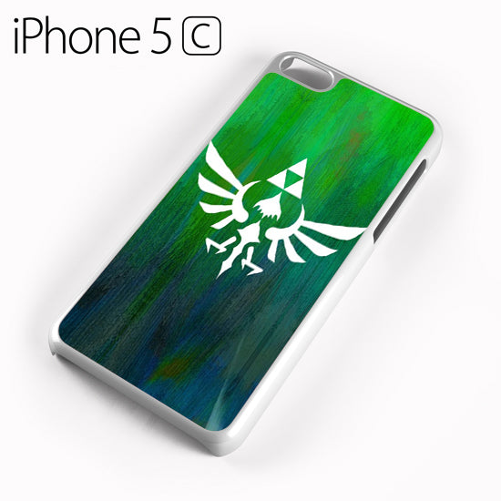 Zelda Logo Art - iPhone 5C Case - Tatumcase