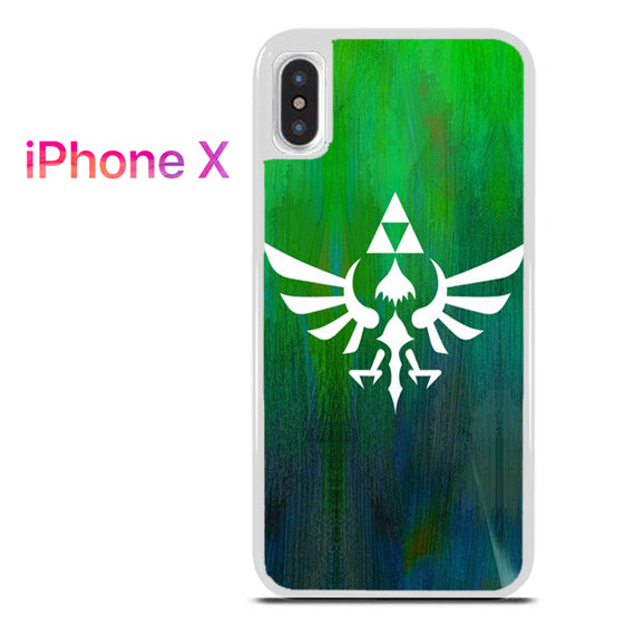 Zelda Logo Art - iPhone X Case - Tatumcase
