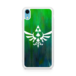 Zelda Logo Art,Custom Phone Case, iPhone XR Case, Tatumcase