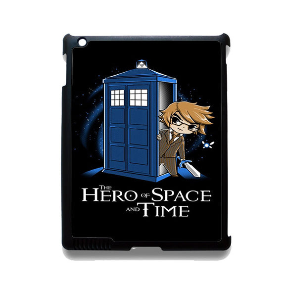 Zelda The Hero Of Space And Time Doctor Who TATUM-12213 Apple Phonecase Cover For Ipad 2/3/4, Ipad Mini 2/3/4, Ipad Air, Ipad Air 2
