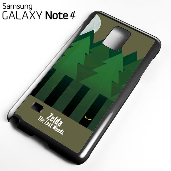 Zelda The Lost Woods YT - Samsung Galaxy Note 4 Case - Tatumcase