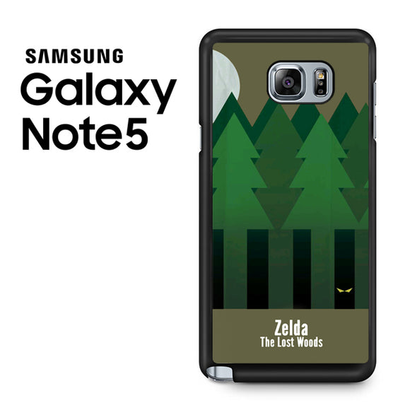 Zelda The Lost Woods YT - Samsung Galaxy Note 5 Case - Tatumcase