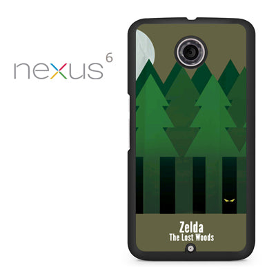 Zelda The Lost Woods YT - Nexus 6 Case - Tatumcase