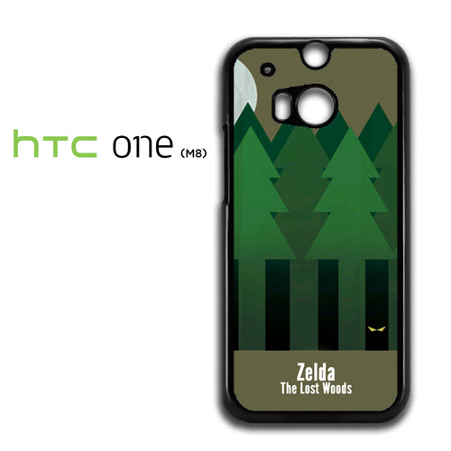 Zelda The Lost Woods YT - HTC M8 Case - Tatumcase