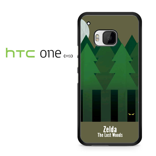 Zelda The Lost Woods YT - HTC ONE M9 Case - Tatumcase