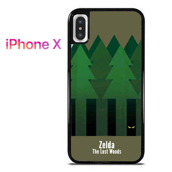 Zelda The Lost Woods YT - iPhone X Case - Tatumcase