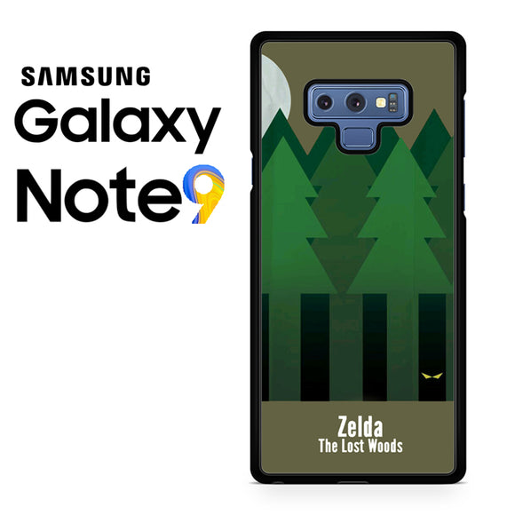 Zelda The Lost Woods YT - Samsung Galaxy NOTE 9 Case - Tatumcase