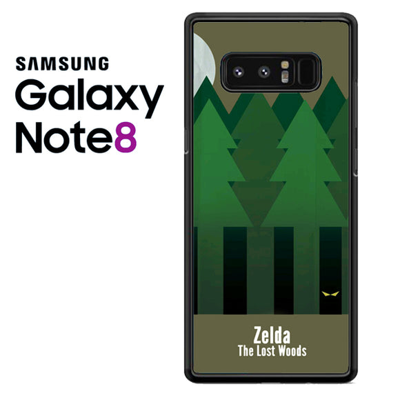 Zelda The Lost Woods YT - Samsung Galaxy Note 8 Case - Tatumcase