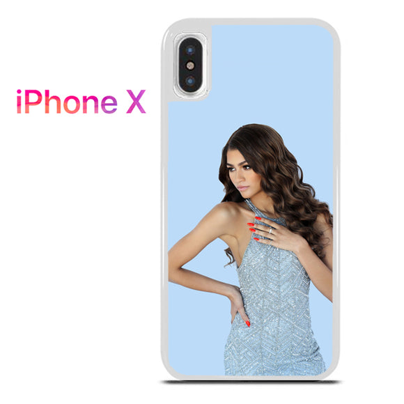 Zendaya TY 6 - iPhone X Case - Tatumcase