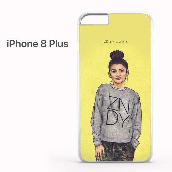 Zendaya TY 8 - iPhone 8 Plus Case - Tatumcase