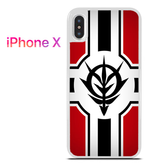 Zeon Gundam - iPhone X Case - Tatumcase
