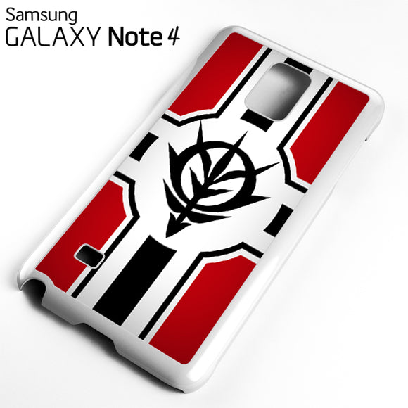 Zeon Gundam - Samsung Galaxy Note 4 Case - Tatumcase