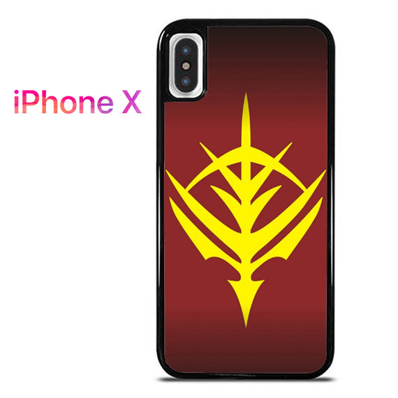 Zeon Logo Gundam - iPhone X Case - Tatumcase