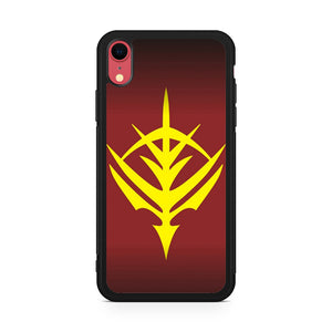 Zeon Logo Gundam,Custom Phone Case, iPhone XR Case, Tatumcase