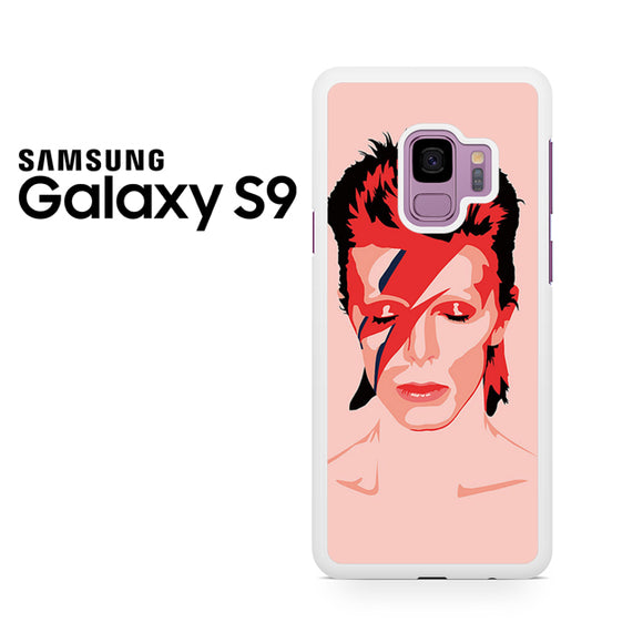 Ziggy Stardust David Bowie - Samsung Galaxy S9 Plus Case - Tatumcase