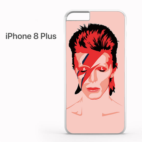Ziggy Stardust David Bowie - iPhone 8 Plus Case - Tatumcase