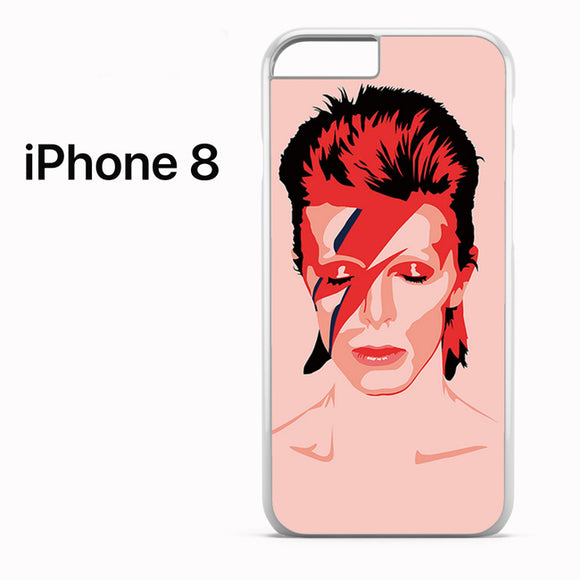 Ziggy Stardust David Bowie - iPhone 8 Case - Tatumcase
