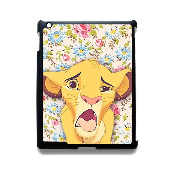 Zimba The Lion King TATUM-12219 Apple Phonecase Cover For Ipad 2/3/4, Ipad Mini 2/3/4, Ipad Air, Ipad Air 2