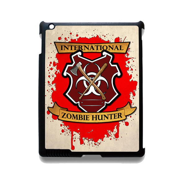 Zombie Hunter TATUM-12225 Apple Phonecase Cover For Ipad 2/3/4, Ipad Mini 2/3/4, Ipad Air, Ipad Air 2