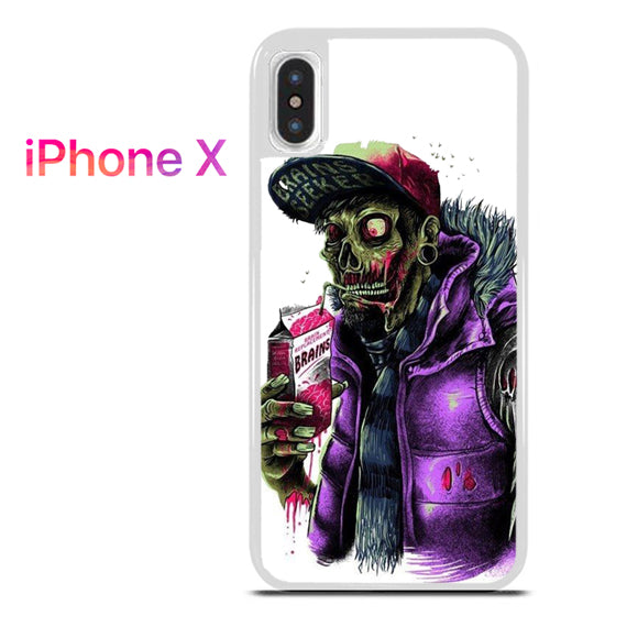 Zombie Rapper - iPhone X Case - Tatumcase