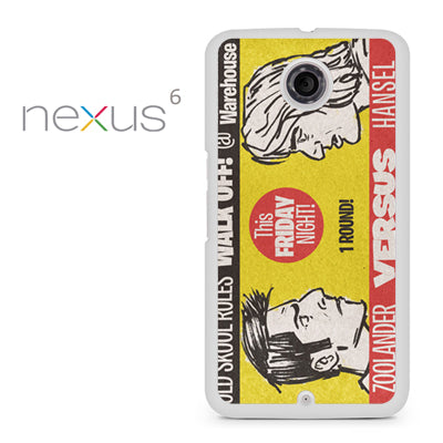 Zoolander VS Hansel Walk Off - Nexus 6 Case - Tatumcase