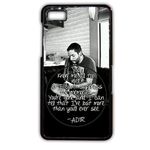 A Day To Remember TATUM-160 Blackberry Phonecase Cover For Blackberry Q10, Blackberry Z10 - tatumcase