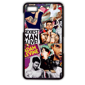 Adam Levine Collage TATUM-248 Blackberry Phonecase Cover For Blackberry Q10, Blackberry Z10 - tatumcase