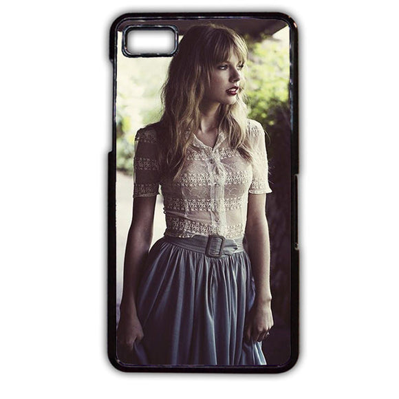 Adorable Taylor Swift TATUM-298 Blackberry Phonecase Cover For Blackberry Q10, Blackberry Z10 - tatumcase