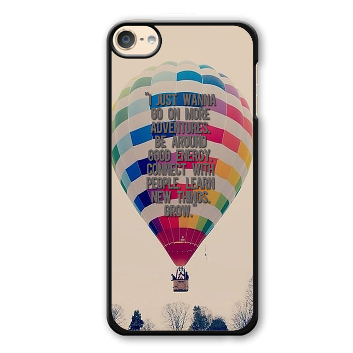 Adventure Baloon Phonecase Cover Case For Apple Ipod 4 Ipod 5 Ipod 6 - tatumcase